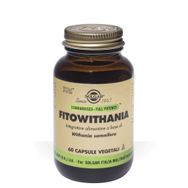 FITOWITHANIA 60 CAPSULE SOLGAR