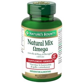 NATURAL MIX OMEGA 60 PERLE NATURE'S BOUNTY