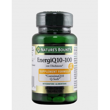 NATURALMENTE ENERGIQ10 100MG 30 PERLE NATURE'S BOUNTY