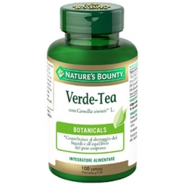 VERDE-TEA 100 CAPSULE NATURE'S BOUNTY