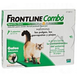 FRONTLINE COMBO SPOT-ON GATTI 3 PIPETTE