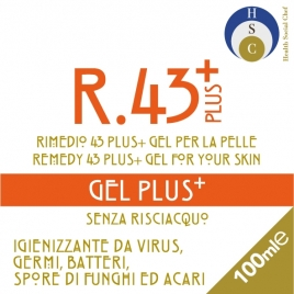 R 43 PLUS GEL IGIENIZZANTE MANI 100 ml