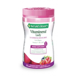 VITAMINERAL LADY 60 GOMMOSE MASTICABILI NATURE'S BOUNTY