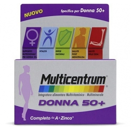MULTICENTRUM DONNA 50 + 30 COMPRESSE