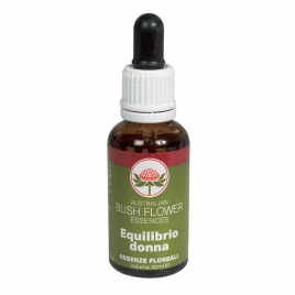 AUSTRALIAN BUSH FLOWER EQUILIBRIO DONNA 30 ML