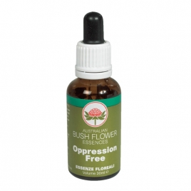 AUSTRALIAN BUSH FLOWER OPPRESSION FREE 30 ML