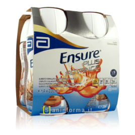 ENSURE PLUS CIOCCOLATO 4 X 200ML
